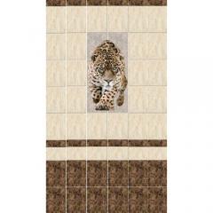 """Панель ПВХ LUX """"Леопард"""" (панно, 2 панели)"""