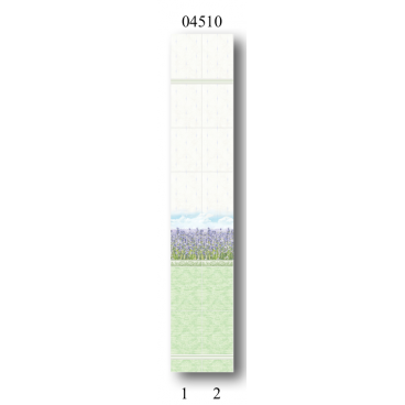 "04510 Дизайн-панели PANDA ""Лаванда"" Фон 2 шт"