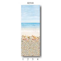 "02510 Дизайн-панели PANDA ""Мечта"" Фон 4 шт."