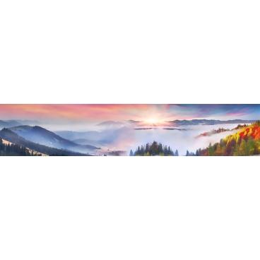 """Кухонный фартук АБС """"Альпийские горы"""""""