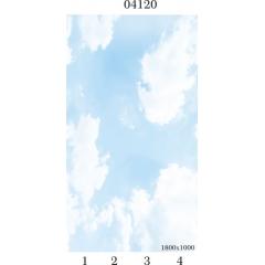 """04120 Дизайн-панели PANDA """"Небо"""" Панно 4 шт"""
