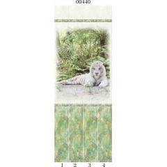 """00440 Дизайн-панели PANDA """"Тропики"""" Панно 4 шт"""