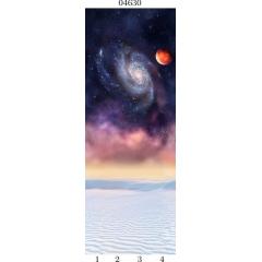 "04630 Дизайн-панели PANDA ""Космос"" Панно 4 шт"