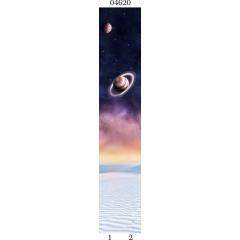 "04620 Дизайн-панели PANDA ""Космос"" Панно 2 шт"