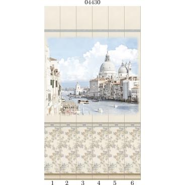 """04430 Дизайн-панели PANDA """"Классика"""" Панно 6 шт"""