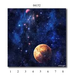 "04152 Дизайн-панели PANDA ""Космос"" Панно 8 шт"