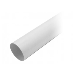 "Труба водосточная ПВХ ""MUROL"" 80 мм, белая, 3 м."