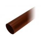 "Труба водосточная ПВХ ""MUROL""100 мм, коричневая, 3 м."