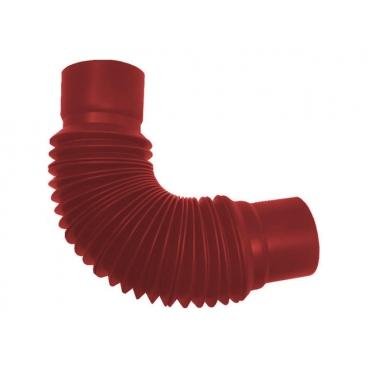 """Универсальный гибкий отвод ПВХ """"MUROL"""" 80 мм, красный"""