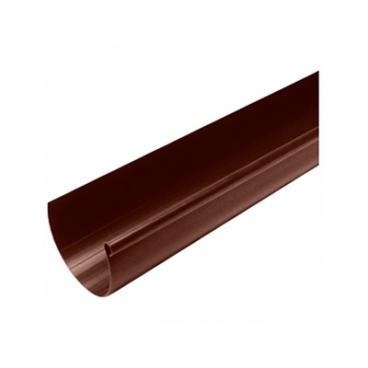 """Желоб водосточный ПВХ """"MUROL"""" 130 мм, коричневый, 2 м."""