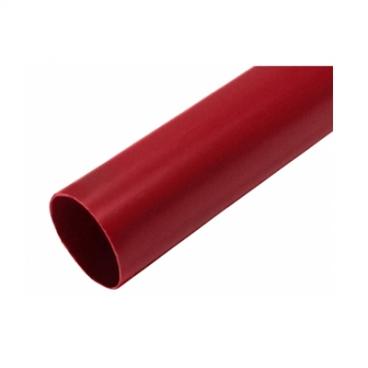 """Труба водосточная ПВХ """"MUROL"""" 80 мм, красная, 3 м."""