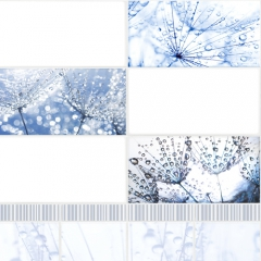 "Панель ПВХ VOX Digital Print ""Фантазия Роса"" Панно 4 шт."