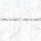 "Панель ПВХ VOX Digital Print ""Мрамор Прато"" Панно 4 шт."