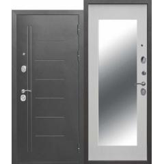 10 см Троя Серебро Maxi Зеркало Белый ясень