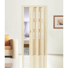 """Дверь - гармошка """"Фаворит"""" цвет Беленый дуб"""