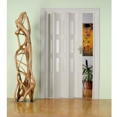 """Дверь - гармошка """"Фаворит"""" цвет Серый ясень"""
