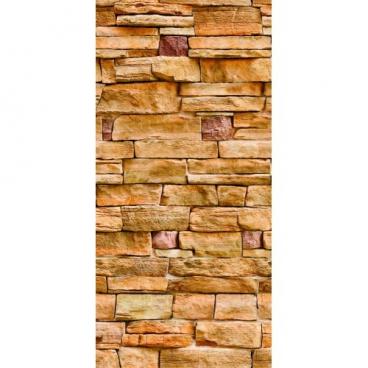 Панель ПВХ Камень терракотовый (344)