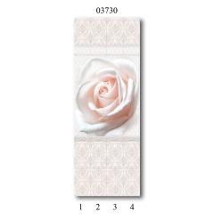 """03730 Дизайн-панели PANDA """"Дамасский узор"""" Панно 4 шт"""