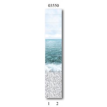 """03550 Дизайн-панели PANDA """"Море"""" Фон 2 шт"""