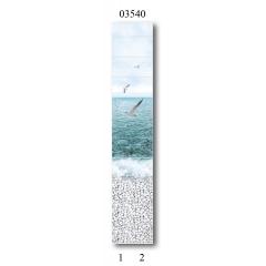"""03540 Дизайн-панели PANDA """"Море"""" Панно 2 шт"""