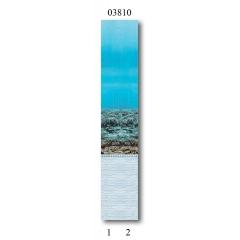 """03810 Дизайн-панели PANDA """"Подводный мир"""" Фон 2 шт"""