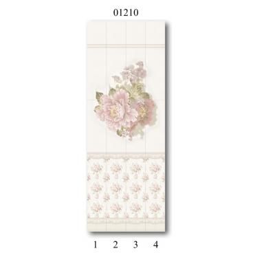 """01210 Дизайн-панели PANDA """"Прованс"""" Панно 4 шт"""