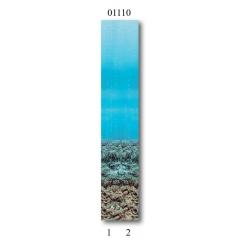 """01110 Дизайн-панели PANDA """"Подводный мир"""" Фон 2 шт"""