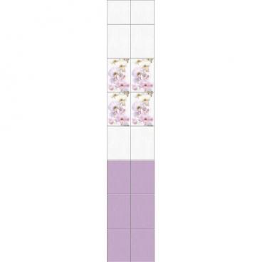 """Панель ПВХ LUX """"Дымчатая орхидея"""""""