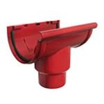 Красная водосточная система Murol
