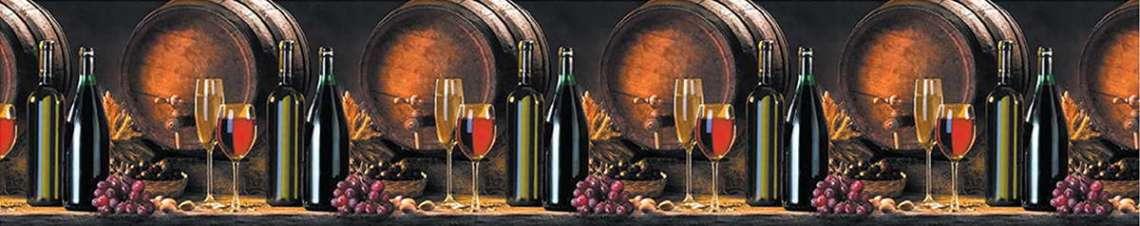 Кухонный фартук АБС Вино