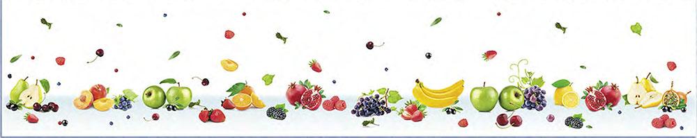 Кухонный фартук АБС Фрукты