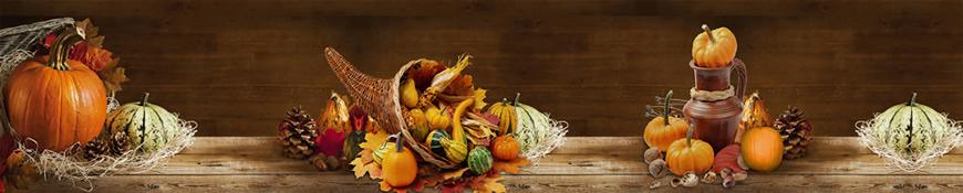 Кухонный фартук АБС Осенний урожай