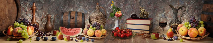 Кухонный фартук АБС Осенний натюрморт