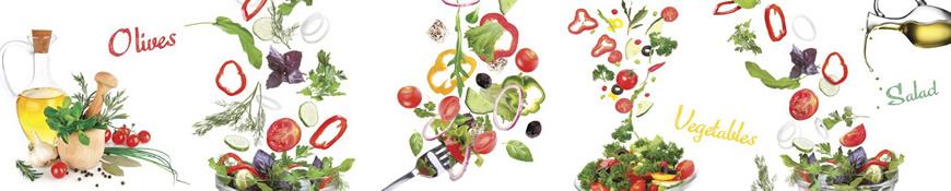 Кухонный фартук АБС Вкусное настроение 2