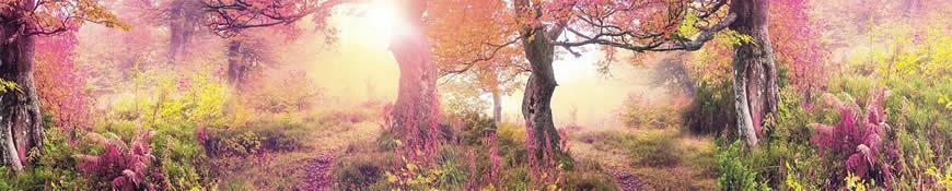 Кухонный фартук АБС Волшебный лес