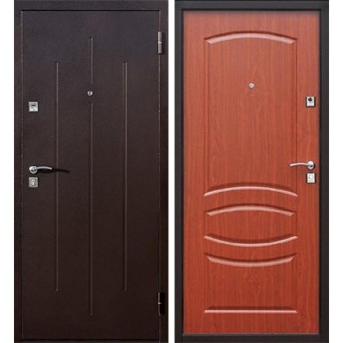 Входная дверь Стройгост 7-2 Итальянский орех 860L