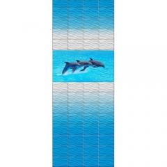 "Панель ПВХ LUX ""Океан"" (панно, 4 панели)"