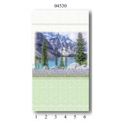 """04530 Дизайн-панели PANDA """"Лаванда"""" Панно 6 шт"""