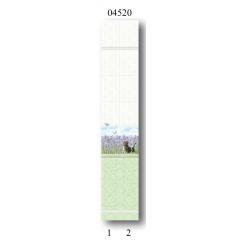 """04520 Дизайн-панели PANDA """"Лаванда"""" Панно 2 шт"""