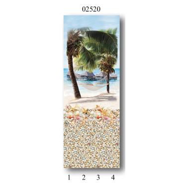 "02520 Дизайн-панели PANDA ""Мечта"" Панно 4 шт"