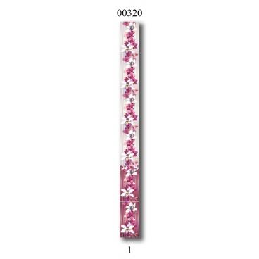"""00320 Дизайн-панели PANDA """"Дикая орхидея"""" Фон 1 шт"""