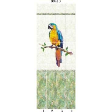"""00410 Дизайн-панели PANDA """"Тропики"""" Панно 4 шт"""