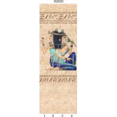 """02820 Дизайн-панели PANDA """"Египет"""" Панно 4 шт"""