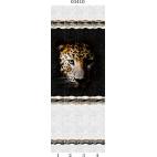 """03410 Дизайн-панели PANDA """"Леопард"""" Панно 4 шт"""