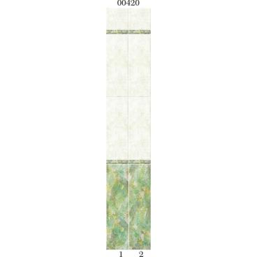 """00420 Дизайн-панели PANDA """"Тропики"""" Фон 2 шт"""