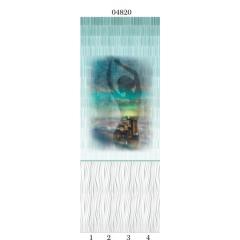 """04820 Дизайн-панели PANDA """"Грация"""" Панно 4 шт"""