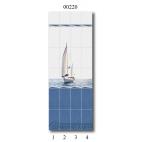 "00220 Дизайн-панели PANDA ""Морской бриз"" Панно 4 шт"