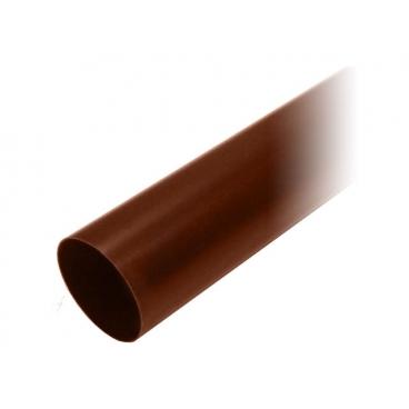 "Труба водосточная ПВХ ""MUROL"" 100 мм, коричневая, 3 м."