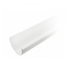 """Желоб водосточный ПВХ """"MUROL"""" 130 мм, белый, 3 м."""