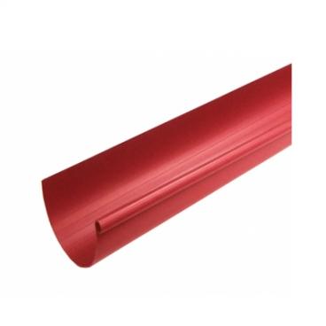 """Желоб водосточный ПВХ """"MUROL"""" 130 мм, красный, 3 м."""